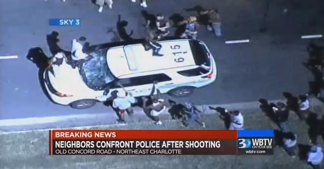 Protests erupt in Charlotte after man killed