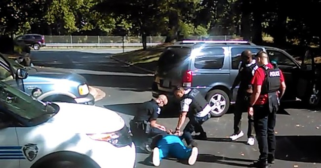 Charlotte police release video of shooting