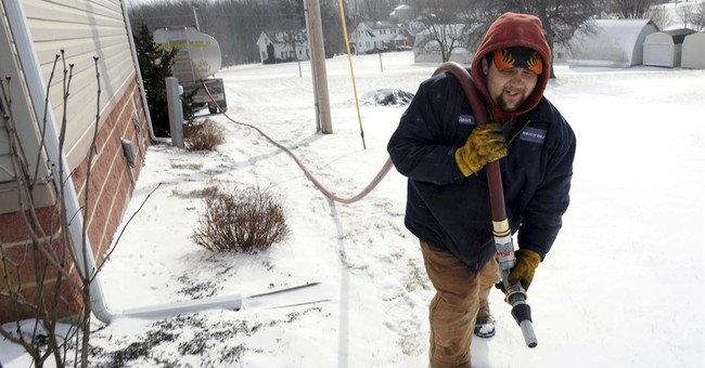 Gov't says colder weather will boost winter heating bills