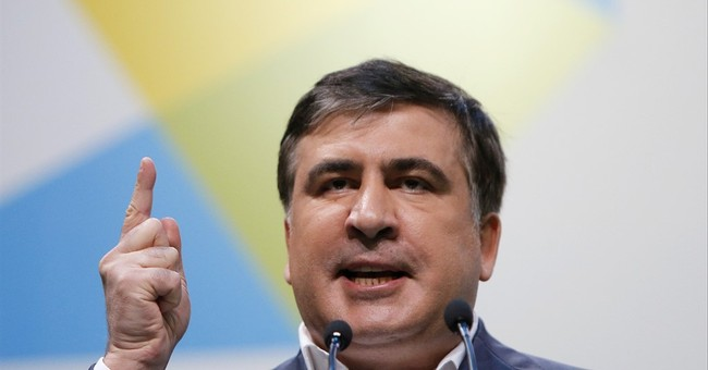 Saakashvili steps down as head of corruption-plagued Odessa