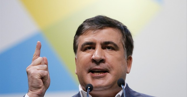 Saakashvili declares push for early elections in Ukraine