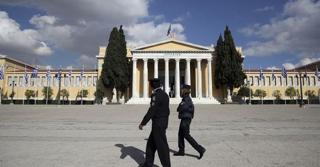 Arrests in Athens as protest turns violent during Obama's visit to Greece