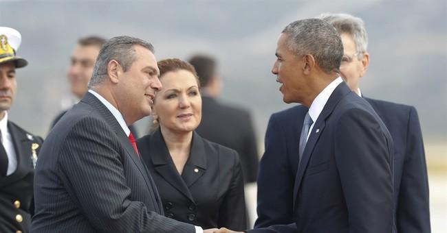 Obama to hail democracy in Athens