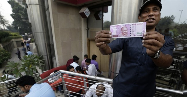 India's cancellation of billions of dollars of currency is not going well