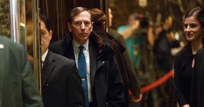 Trump Meets With Petraeus Amid Secretary Of State Talks