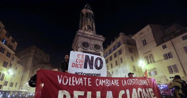 Ferrari Hits Record High as Italy Exporters Snub Renzi's Exit