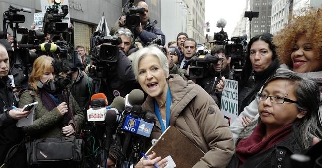 Jill Stein Sues in Pennsylvania, Presses on in Recount Campaign