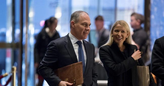 Trump reportedly considering Oklahoma Attorney General Scott Pruitt for head of EPA