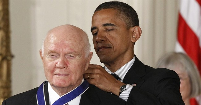 America lost another hero with the passing of John Glenn
