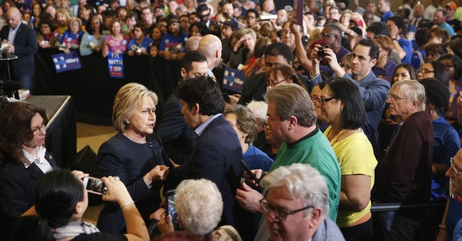 CAMPAIGN 2016: Sanders: Clinton coming 'unraveled'