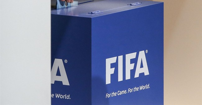 The Latest: Infantino says he'll make FIFA proud again