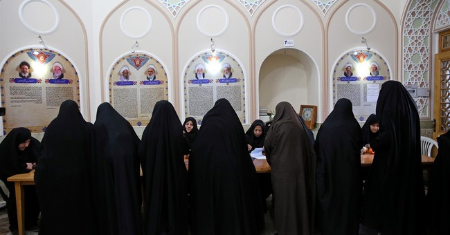 Early election results point to gains by Iranian moderates