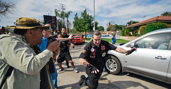 KKK members linked to violent brawl released