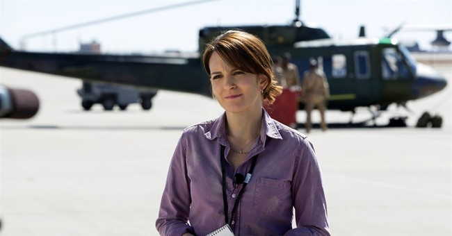 Tina Fey plays rookie reporter in Afghanistan in dark war comedy