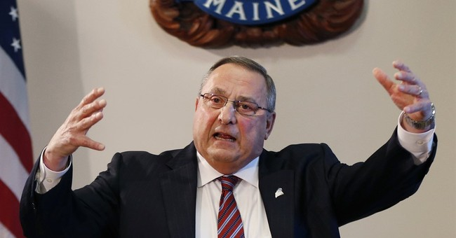 Maine Governor: Guillotine Drug Dealers UPDATE: Or Maybe Just Shoot Them