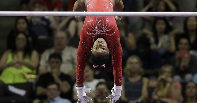 Simone Biles, Team USA Take Over Olympic Gymnastics Team Qualifying