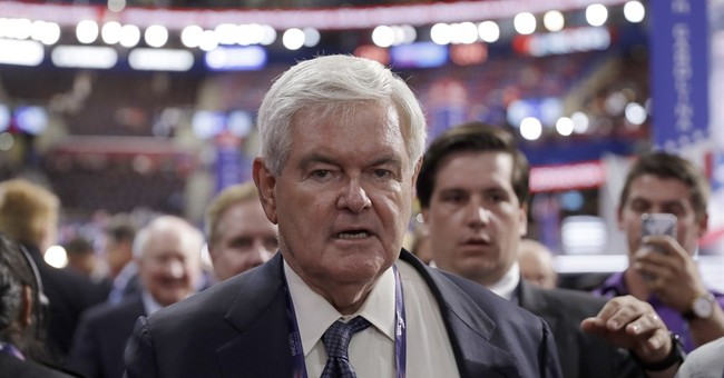 Newt Gingrich: Electing 'Dishonest' Hillary Could Destroy The Nation