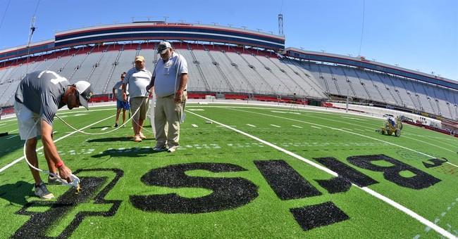 Bristol Speedway Hosts Virginia Tech Tennessee Football