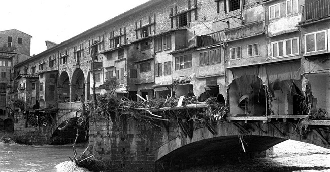 the great flood of florence 1966 a photographic essay 50 years after a devastating flood, fears that florence through the square in front of the basilica of santa croce in florence after the river arno overflowed in november 1966 the question preoccupying florentines and others on this anniversary of the great flood is.