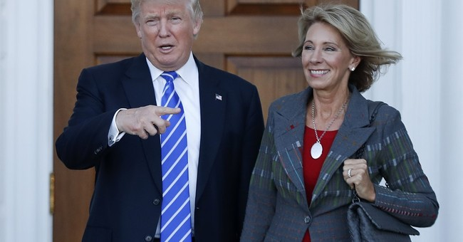Fallon Warns Trump Cabinet Pick Would 'Gut the Education System'