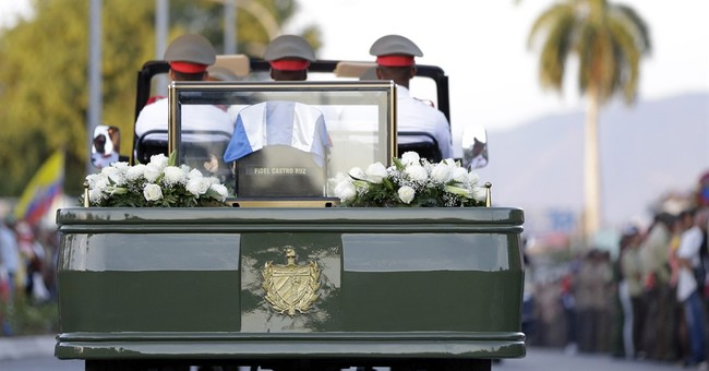 Ha: Fidel Castro's Funeral Vehicle Broke Down Mid-Procession