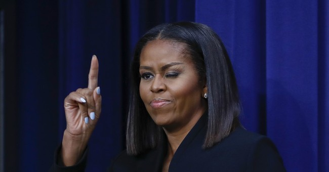 Michelle Obama's Christmas Lump of Coal