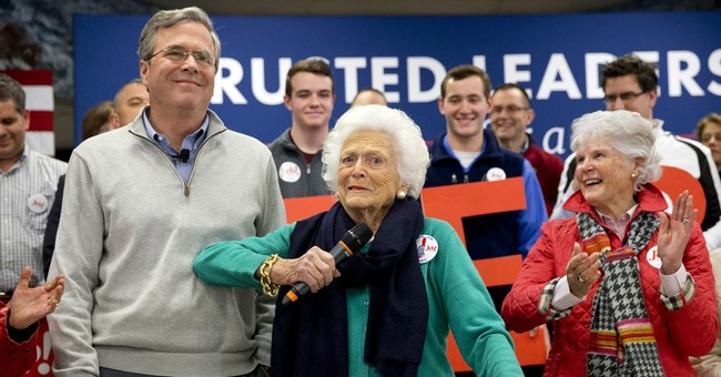 George and Barbara Not Enough to Save Jeb's Campaign