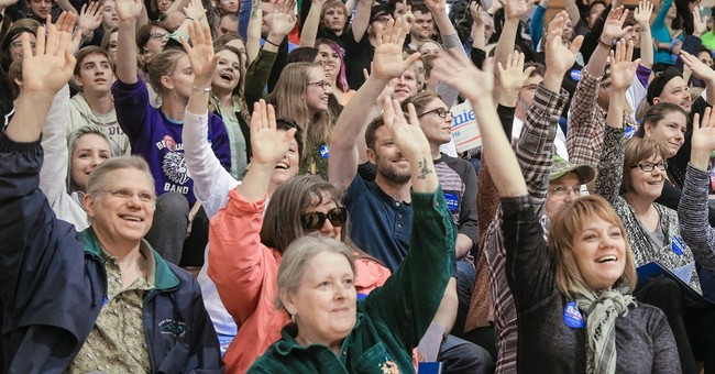 Turnout In Maine Democratic Caucuses is Insanely High