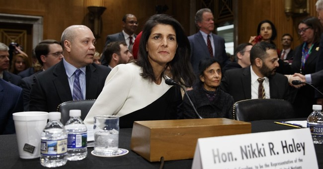 Senate Foreign Relations Panel Approves Nikki Haley as UN Envoy