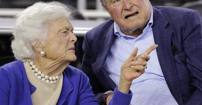 George, Barbara Bush to flip coin at Super Bowl