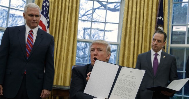 It's Done: Trump Signs Executive Orders For Border Wall, More Federal Immigration Agents, And Targets Sanctuary Cities