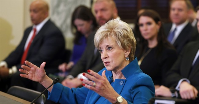 Former WWE boss Linda McMahon confirmed in USA  business role