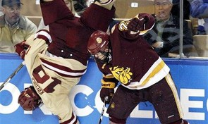 Boston College on familiar route to Frozen Four