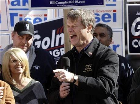 Massachusetts GOP Gubernatorial Candidate Has Slim Lead in Polls