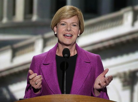 Sen. Baldwin: First Amendment Applies To Institutions of Faith, 'But I Don't Think It Extends Far Beyond That'