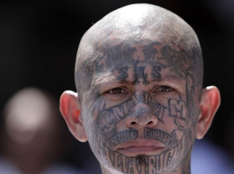 Violent MS-13 Gang Members Leave Graffiti on Bathroom Walls of Nogales Border Patrol Processing Center