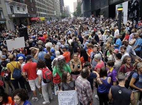 Climate Change Demonstrators Hold Rallies Across the World