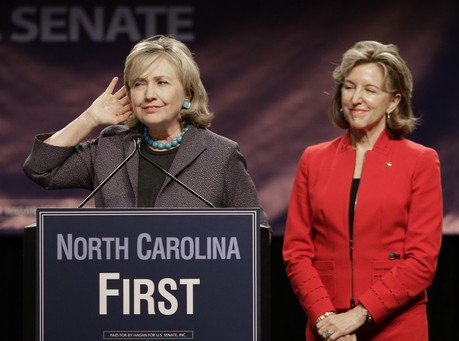 Hillary Clinton Rallies NC Democrats for Sen Hagan