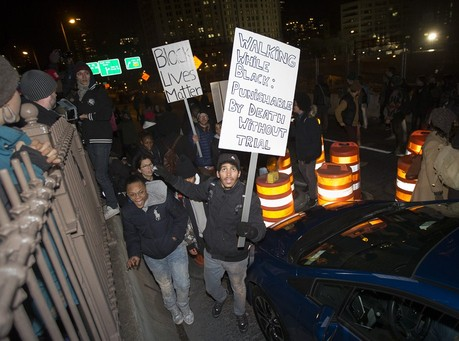 'Police Brutality' Protesters Still Shutting Down Bridges
