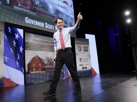 Scott Walker Leads Iowa 2016 GOP Field