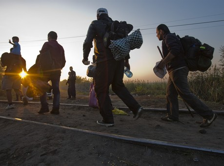 Germany, France, Britain Press for EU Action on Migrants