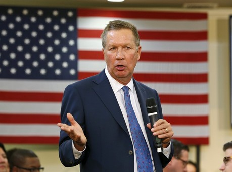 Kasich: Maybe I'll Buy Bibles for Medicaid Expansion Critics, So They'll Care About the Poor