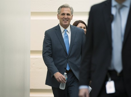 <font color = red>Kevin McCarthy Withdraws from Speaker Race</font>