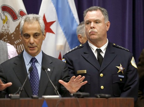 Trying To Save His Own Job, Chicago Mayor Rahm Emanuel Fires His Police Chief