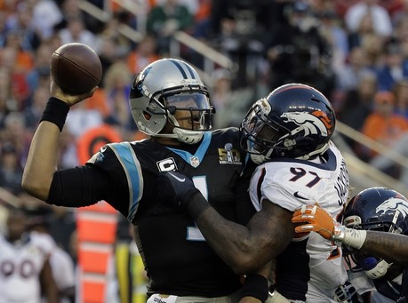 The Latest: Broncos Beat Panthers to Win Super Bowl