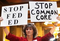 VIDEO: Common Core Protest At Department of Education Building