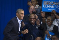 Over It: 'Steady Stream' of Democrats Leave Campaign Rally During Obama Speech