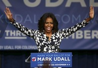 First Lady Gives Shout-out To Mark Udall for Obama Accomplishments