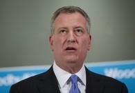 WATCH: NYPD Officers Turn Their Backs on NYC Mayor De Blasio