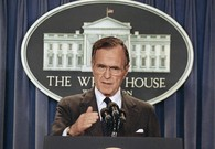 Ex-President George H.W. Bush to Stay Hospitalized